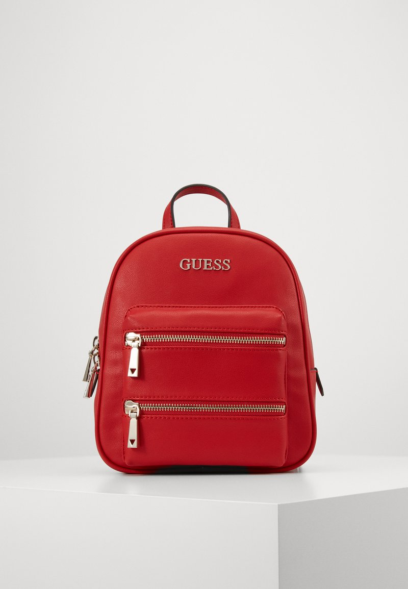Guess - CALEY BACKPACK - Rucksack - red