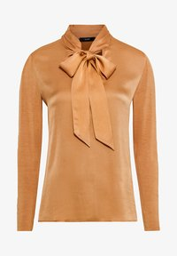 HALLHUBER - MIT SCHLUPPE - Blouse - curry - 3
