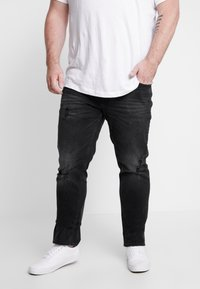Jack & Jones - JJITIM JJORIGINAL - Jeans straight leg - black denim - 0