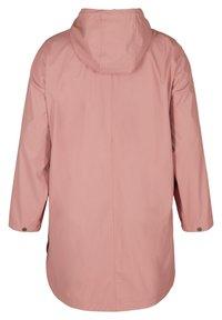 Zizzi - Waterproof jacket - rose - 6