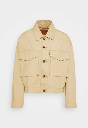 LOOSE UTILITY TRUCKER - Summer jacket - incense