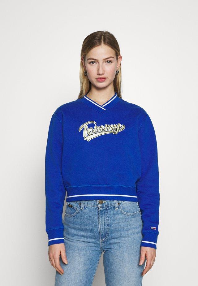 VNECK - Sweatshirt - providence blue