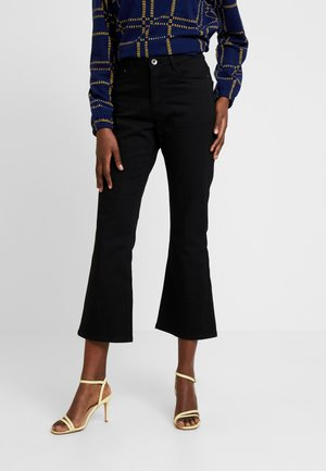 GRACE LONG JEANS - Flared Jeans - black deep