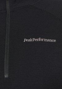 Peak Performance - MAGIC HALF ZIP - Undershirt - black - 6