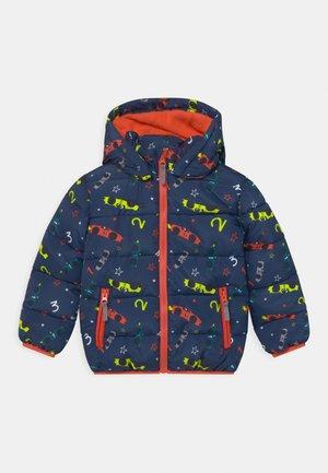 KIDS BOYS HIGHNECK - Zimní bunda - dark blue