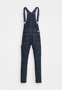 Tommy Jeans - DUNGAREE - Straight leg -farkut - save dark blue rigid - 8