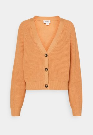 ZETA CARDIGAN - Cardigan - dusty light orange