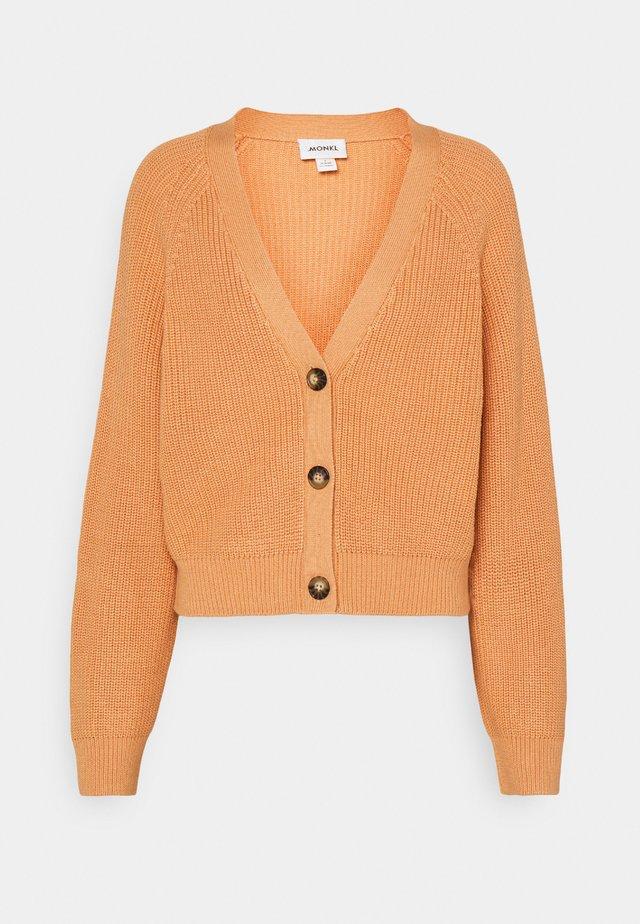 Cardigan - dusty light orange