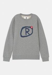 Wood Wood - ROD UNISEX - Sweatshirt - grey melange - 0