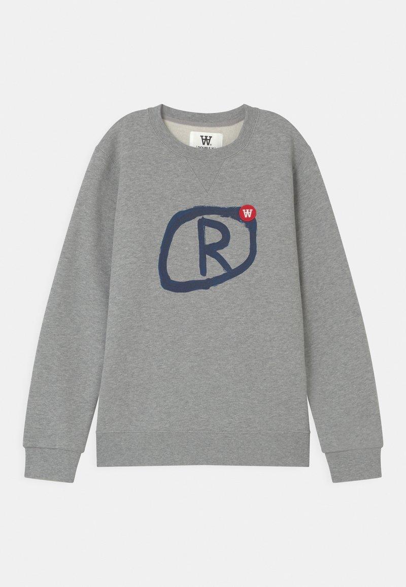 Wood Wood - ROD UNISEX - Sweatshirt - grey melange