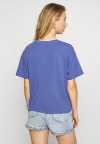 American Eagle - COLOR ON COLOR BRANDED - Print T-shirt - blue - 2