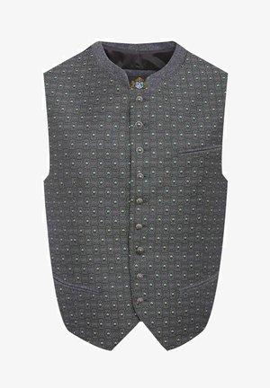 TRACHTEN - Suit waistcoat - schwarz