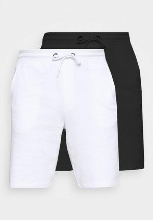 ONSNEIL 2 PACK - Szorty - white/black
