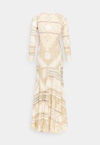 Polo Ralph Lauren - NOVELTY TEXTURE - Jumper dress - beige/multicoloured - 6