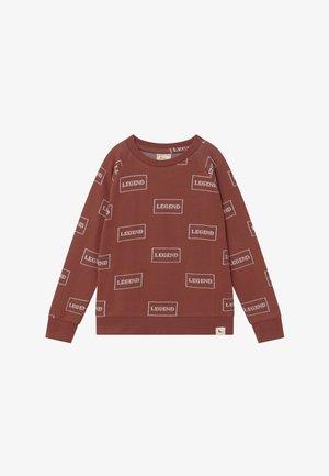 LEGEND - Sweater - brick