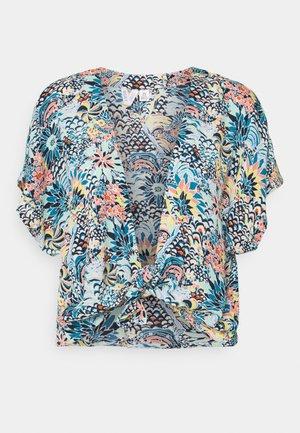 MARINE BLOOM TOP - Blouse - multi-coloured