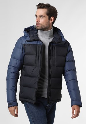 Down jacket - marine blau