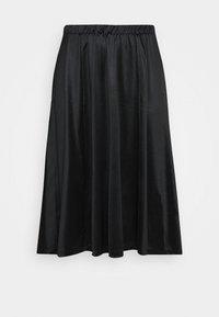 Vero Moda Curve - VMNIMI MIDI SKIRT - A-line skirt - black - 3