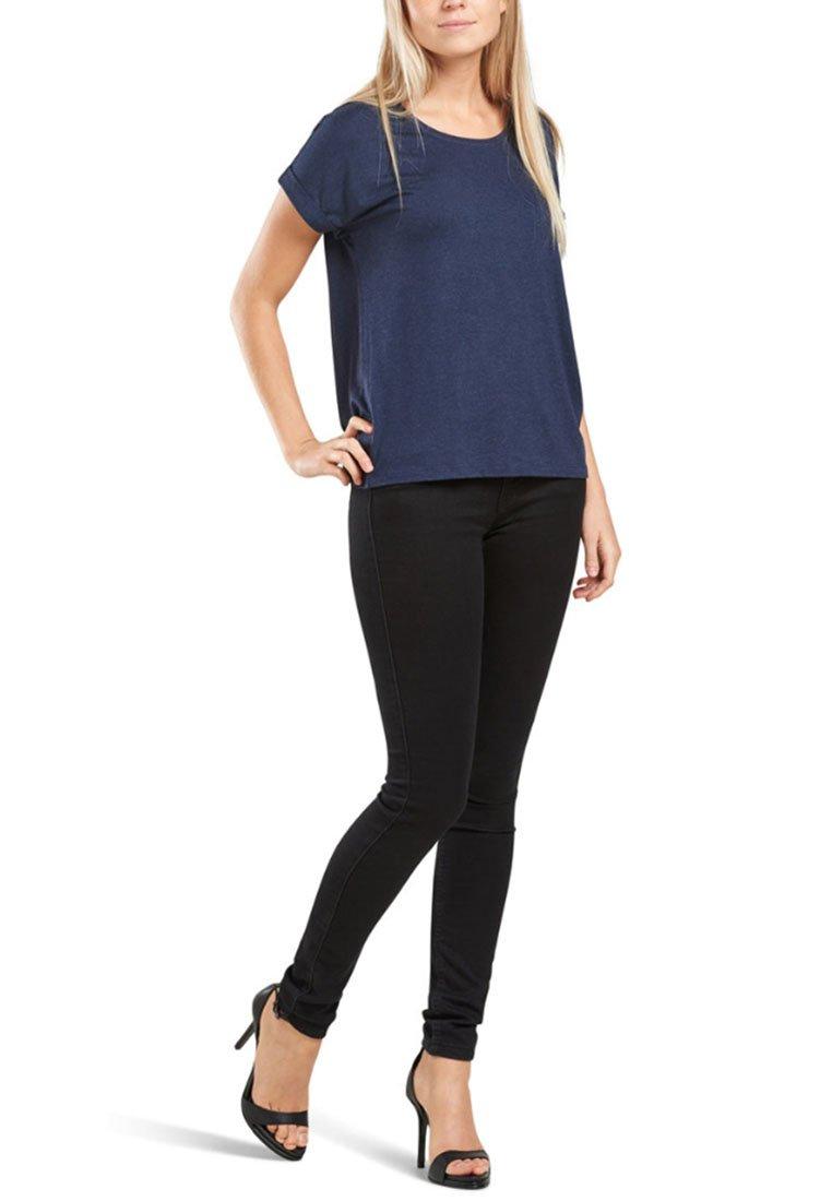 ONLY - ONLMOSTER - T-shirts - drak blue