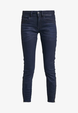LYNN ZIP MID SKINNY ANKLE NEW - Jeans Skinny Fit - lor superstretch