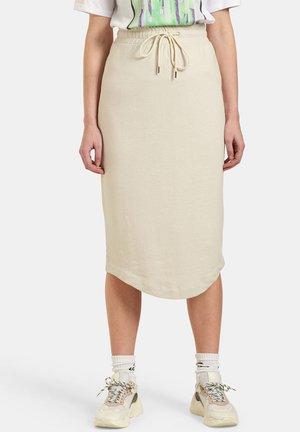 SWEAT SKIRT - Pencil skirt - brown