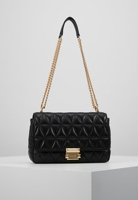 MICHAEL Michael Kors - SLOAN CHAIN - Across body bag - black - 0