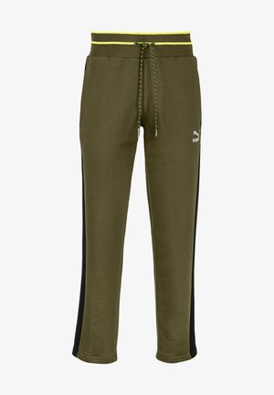 Tracksuit bottoms - dark olive
