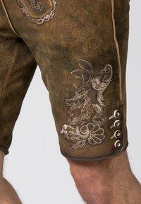 Stockerpoint - HANS - Leather trousers - havana - 6