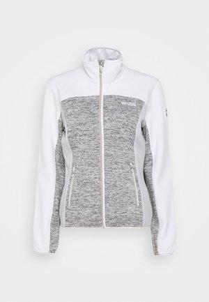 LINDALLA II - Fleece jacket - cyberspace/white