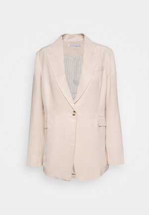 LE MODE LONGLINE - Manteau court - cream
