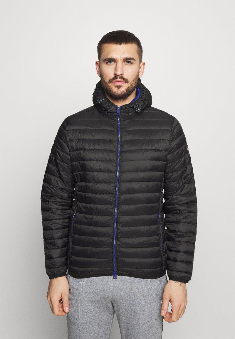 Champion - HOODED JACKET - Training jacket - black