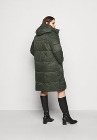 Vero Moda Curve - VMUPSALA LONG JACKET  - Winter coat - peat - 2