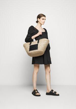 POLLYBORSA - Shopping Bag - naturale/nero