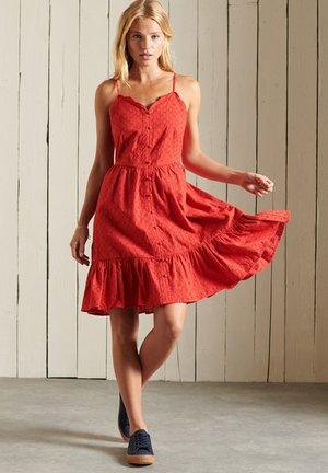 Day dress - apple red