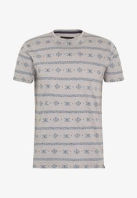 INDICODE JEANS - CANNES - T-shirt med print - grey - 4