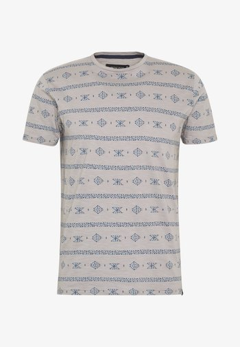 CANNES - T-shirt med print - grey