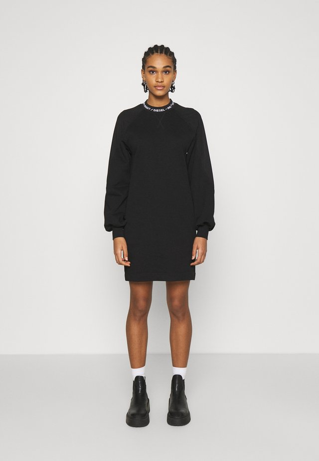 D-TULLY - Korte jurk - black