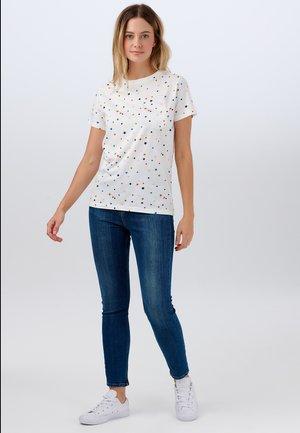 MAGGIE CONFETTI STAR - Print T-shirt - off-white