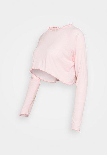 MATERNITY CROSS BACK  - Long sleeved top - pink sherbet