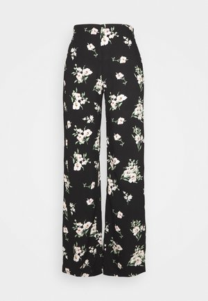 VMSIMPLY EASY WIDE PANT  - Trousers - black