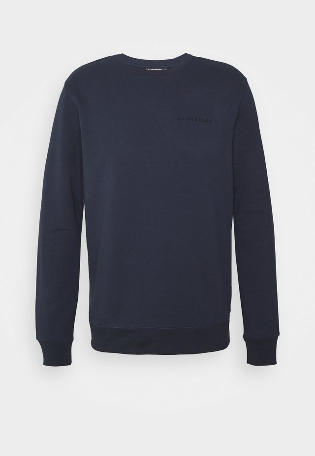 THROW C NECK - Sweatshirt - navy