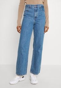 Levi's® - HIGH WAISTED STRAIGHT - Jeans relaxed fit - joe stoned - 0