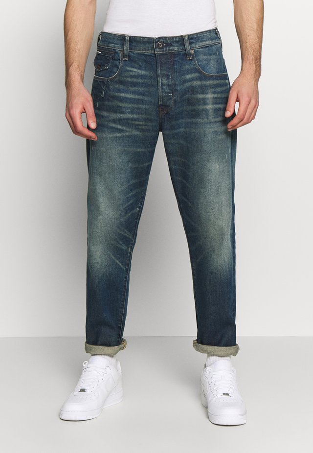 MORRY 3D RELAXED TAPERED - Jeans baggy - dark blue denim