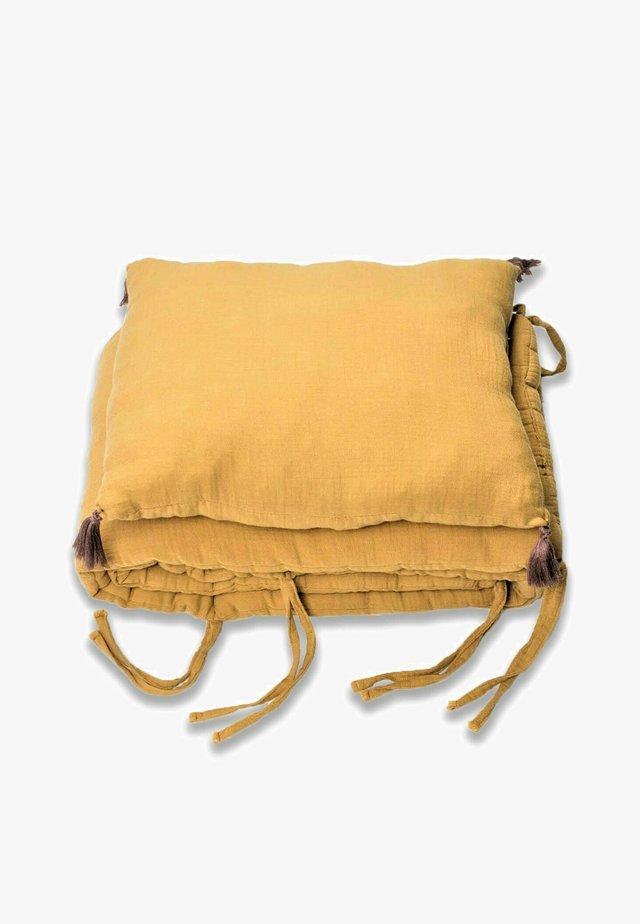 MUSLIN BUMPER SET  - Harsoliina - mustard yellow
