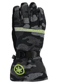 Superdry - Gloves - contrast camo/rescue yellow - 2