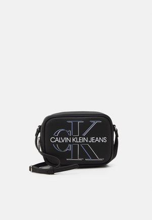 CAMERA BAG GLOW - Bandolera - black