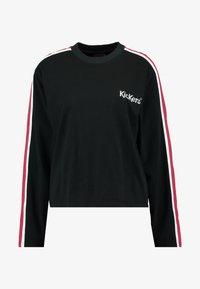 Kickers Classics - SLEEVE PANEL LONGSLEEVE - T-shirt à manches longues - black - 3