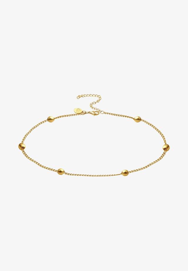MIT KUGELN - Armband - gold