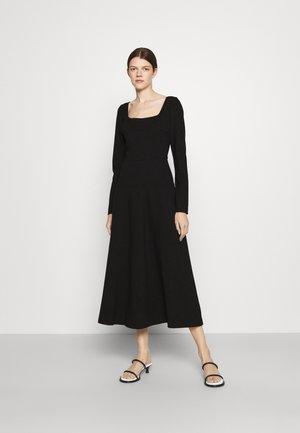 DRESS COMPACT - Day dress - black