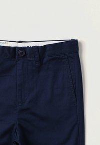 J.CREW - Chino kalhoty - navy - 2